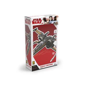 Puzzle Contorno X-Wing Star Wars   R$9