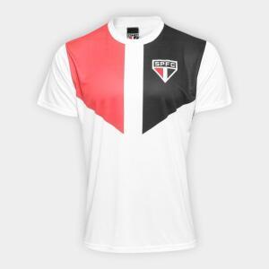 Camisa São Paulo Edição Limitada Masculina - Branco e Vermelho - R$30