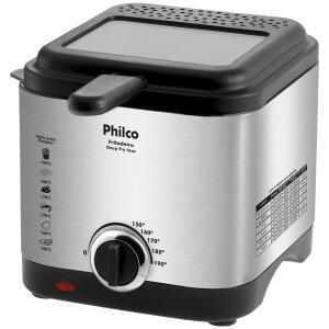 Fritadeira com Óleo Philco Deep Fry - Inox - R$123