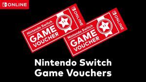 Voucher promocional que vale  2 jogos exclusivos do Nintendo Switch