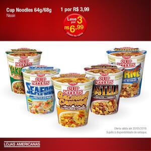 [Loja Física] - 3 Cup Noodles por R$6,99 nas Lojas Americanas