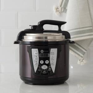 [Cartão Shoptime] Panela de Pressão Elétrica All Black 4L com 2 Anos de Garantia - Fun Kitchen - R$145
