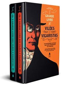 Box - O grande livro dos vilões e vigaristas