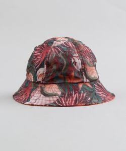 chapéu infantil água de coco estampado corais coral | R$10
