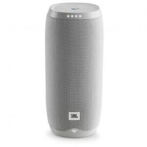 Caixa de Som JBL Link 10 Bluetooth Wi-Fi Branco R$484