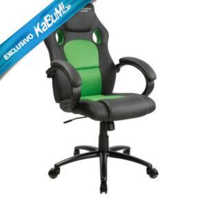 Cadeira Gamer Husky Snow, Black Green