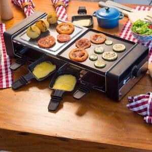 Raclette Grill Elétrica - Fun Kitchen - R$242