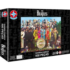 Quebra Cabeça Estrela The Beatles 500 Peças | R$16