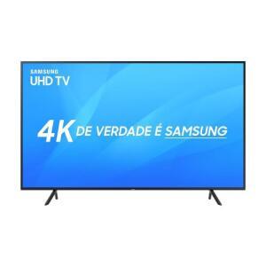 "Imperdível! Smart TV LED 50"" Samsung 4K/Ultra HD 50NU7100 3 HDMI 2 USB - R$ 1.796"