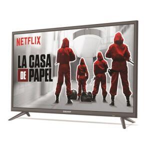 "Smart TV LED 43"" Semp Toshiba 43S3900 Full HD Conversor Digital 2 HDMI 1 USB Wi-Fi 60Hz | R$1274"