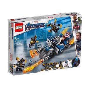 LEGO Marvel Super Heroes - Capitão América: Ataque Outriders | R$109