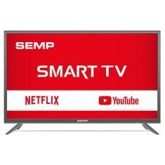 """Smart TV LED 39"""" Semp TCL L39S3900 Full HD com Conversor Digital 2 HDMI 1 USB por R$983"""