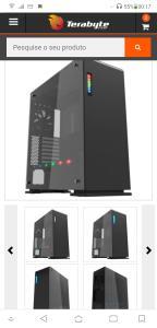 GABINETE GAMER GAMEMAX VEGA M909 RGB, FULL TOWER, COM 1 FAN, VIDRO TEMPERADO, BLACK