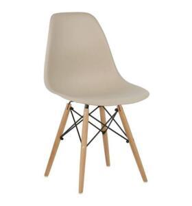 App - Cadeira Charles Bege + Ame