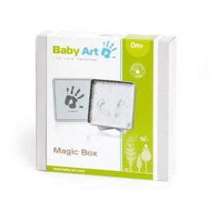 Kit Massa de Modelar Magic Box Baby Art White | R$60