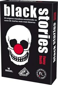 Black Stories Funny Death Galápagos Jogos   R$26