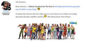 The Sims 4 Grátis por tempo limitado