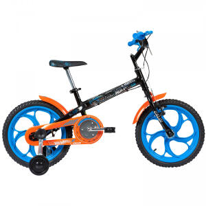 Bicicleta Caloi Hot Wheels - Aro 16 - Freio Cantilever - Infantil R$374