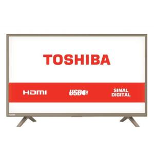 TV LED 32 Polegadas Semp Toshiba HD USB HDMI 32L1800 | R$702