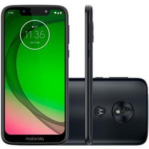 Smartphone Motorola Moto G7 Play, 32GB, 13MP, Tela 5.7´, Indigo - XT1952-2 | R$717