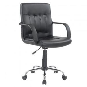 Cadeira para Escritório Carrefour Home Preta ML-2431-2 | R$190