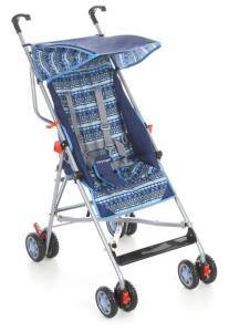 Carrinho de Bebê Umbrella Slim Azul - Voyage R$175