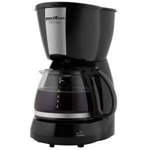 Cafeteira Elétrica Britânia CP15 - Preto 110V - R$45