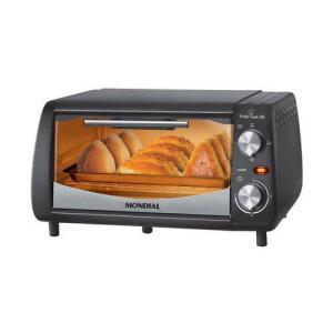 Forno Pratic Cook 10L Mondial 650W Preto/Inox FR-08 110V | R$89