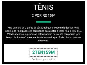 2 pares de tênis 159