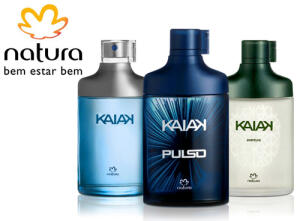 Desodorante Colônia Kaiak, Kaiak Pulso e Kaiak Aventura - 100ml - Natura | R$61