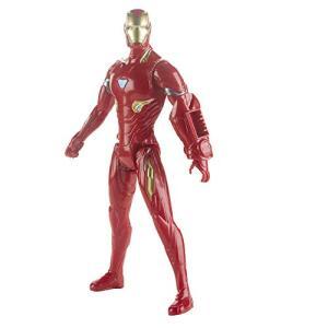 Boneco Titan Hero 2.0 Homem De Ferro, Avengers, Vermelho/amarelo | R$53