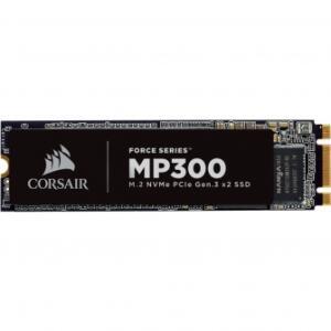 SSD CORSAIR MP300 480GB, M.2 2280, LEITURA 1600MBS E GRAVAÇÃO 1040MBS, CSSD-F480GBMP300 | R$549