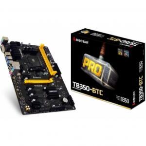 Placa Mãe Biostar Pro TB350-BTC, CHIPSET B350, AMD AM4, ATX, DDR4 - R$309