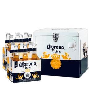 Kit Cooler Corona + 2 Packs de Corona 355 mL (12 garrafas) - R$180