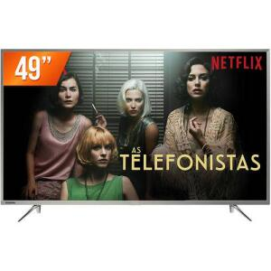 Smart Tv Led 49'' Ultra HD 4k Toshiba 49u7800 3 Hdmi 2 USB Wi-Fi Integrado Conversor Digital por R$ 1675
