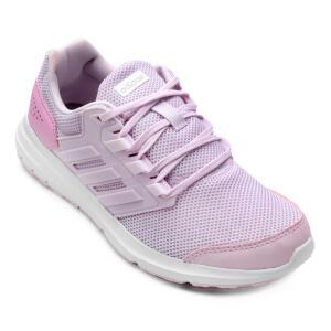 Tênis Adidas Galaxy 4 Feminino - Rosa R$165
