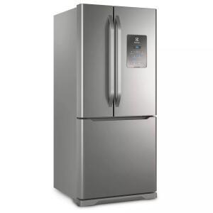 Geladeira/Refrigerador French Door Electrolux 579L Inox (DM84X) - R$4234