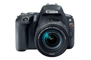 Câmera EOS Rebel SL2 Premium Kit com Lente EF-S 18-55mm + Lente E EF-S 55-250mm - R$2999