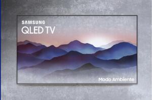 TV QLED 55'' Samsung 2018, Modo Ambiente, 4K, 4 HDMI, 3 USB, Wi-Fi - QN55Q6FN - R$3699