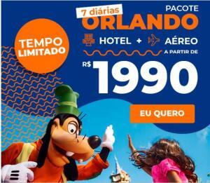 Pacote Orlando - 2020