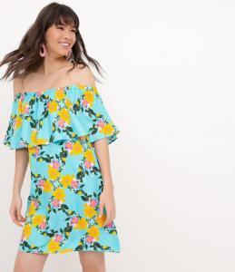 Vestido Floral Ombro a Ombro (Tam P) R$40