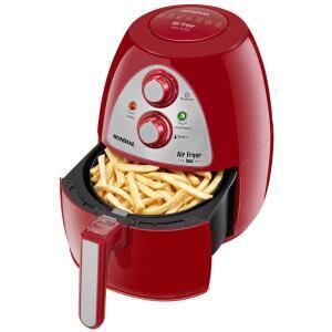 Fritadeira Air Fryer Mondial Inox Red Premium AF-14 - Vermelho / Inox - R$242