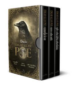 Box - Edgar Allan Poe - Histórias Extraordinárias - 3 Volumes - Acompanha Pôster R$17,92