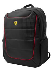 """Mochila Ferrari New Scuderia Preta Para Notebook Até 15,6"""" por R$ 87"""