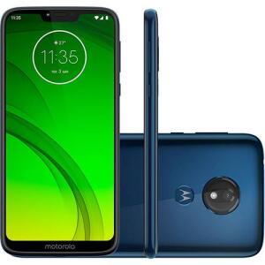"Smartphone Motorola Moto G7 Power 32GB Dual Chip Android Pie - 9.0 Tela 6.2"" 1.8 GHz por R$ 881"