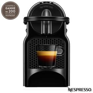 Cafeteira Nespresso Inissia Preta para Café Espresso - D40 por R$ 199