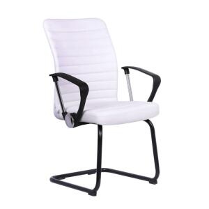 Cadeira de Escritório Interlocutor Oslo Branca | R$198
