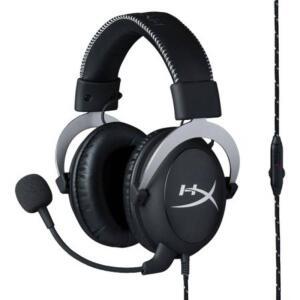 Headset Gamer HyperX Cloud Silver - HX-HSCL-SR/NA - R$280