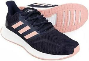 Tênis Adidas Falcon Feminino - Feminino - Marinho+Rosa Claro por R$ 175