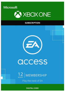 EA Access - 12 Month Subscription (Xbox One) por R$ 74
